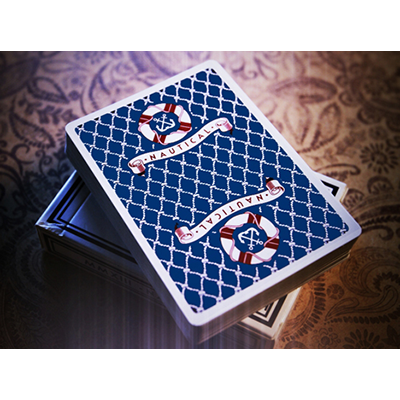 Nautical playing Cards by House of playing Cards Blue