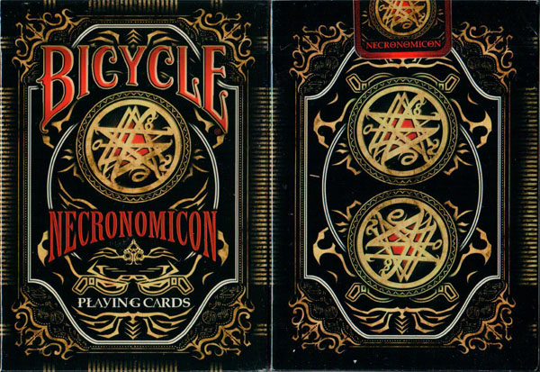 Bicycle Necronomicon Playing Cards