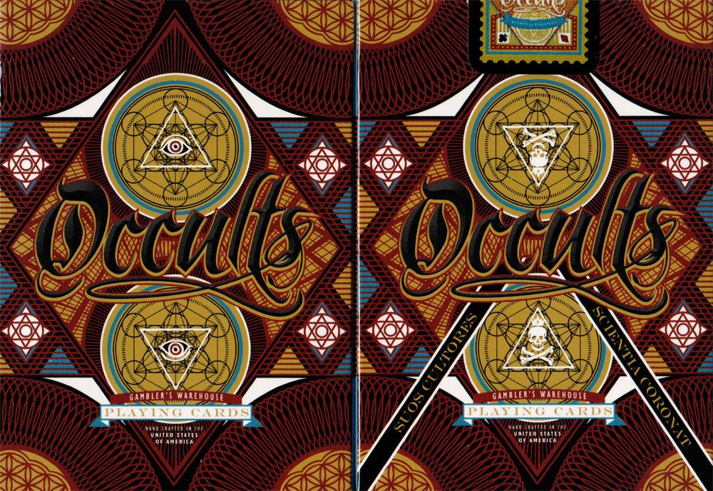Unbranded Occults Playing Card Deck