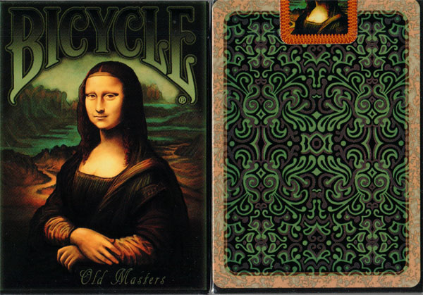 Bicycle Old Masters 1st Edition Playing Cards by Collectable Playing Cards