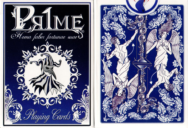 Pr1me Noir Deck Series 001 (Blue) by Max Magic