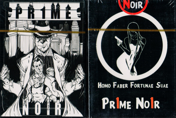 Pr1me Noir Deck (limited Edition)by Max Magic