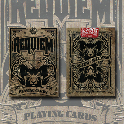 Requiem (Autumn) Deck by Cyberian Way, LLC