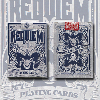 Requiem (Winter) Deck by Cyberian Way, LLC