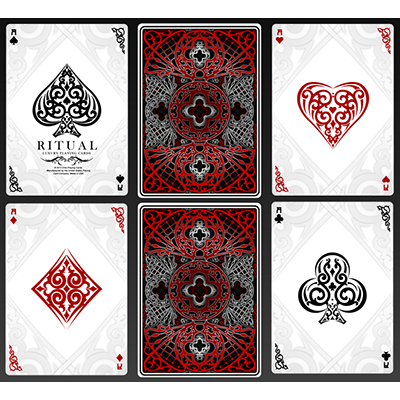 Ritual Playing Cards By Us Playing Cards Magic Tricks