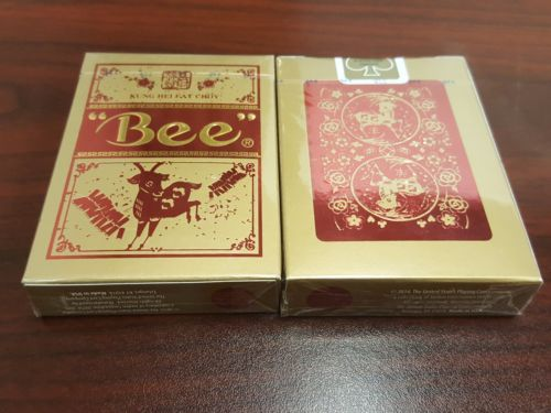Bee Year of the Sheep Deck Playing Cards