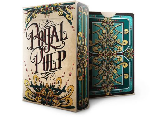 Royal Pulp Blue Playing Cards