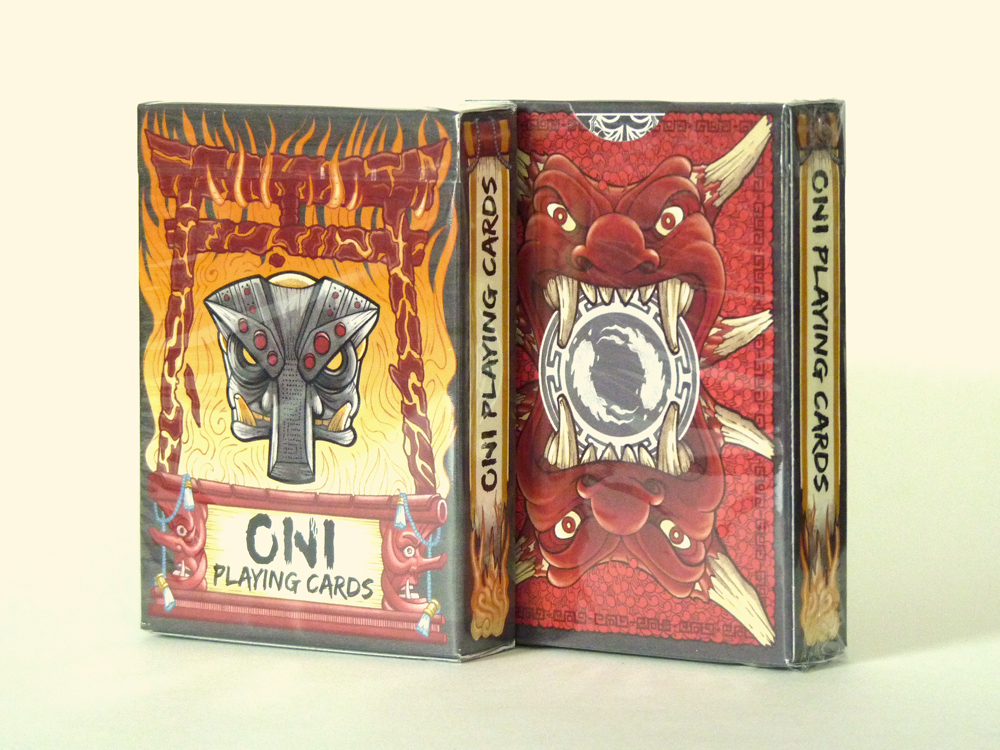 Oni Playing Cards