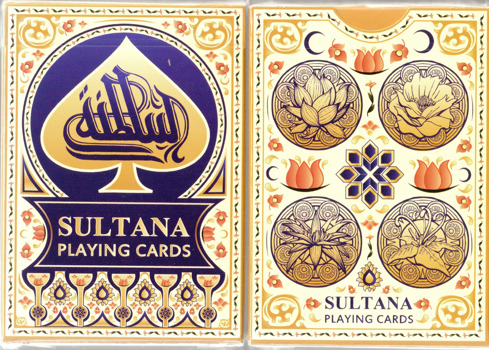 Sultana Playing Cards printed by USPCC