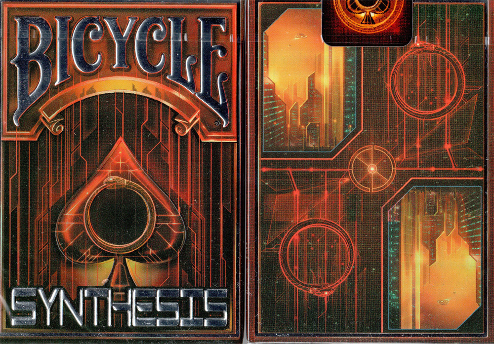 Bicycle Synthesis Limited Red Playing Card Deck