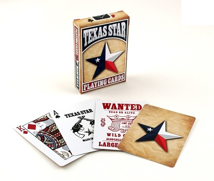 Texas Star Playing Cards by USPCC