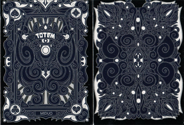Totem Deck (Dark Blue) by Aloy Studios