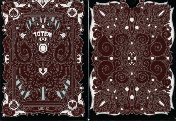 Totem Deck Limited Edition (Red) by Aloy Studios - (Out Of Print)