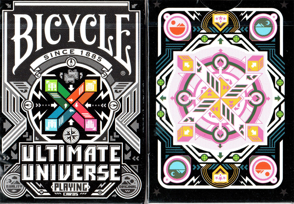 Bicycle Ultimate Universe Colored Edition Playing Cards