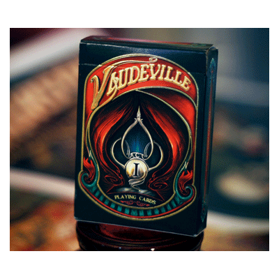 The Vaudeville Deck by The Blue Crown - (Out Of Print)