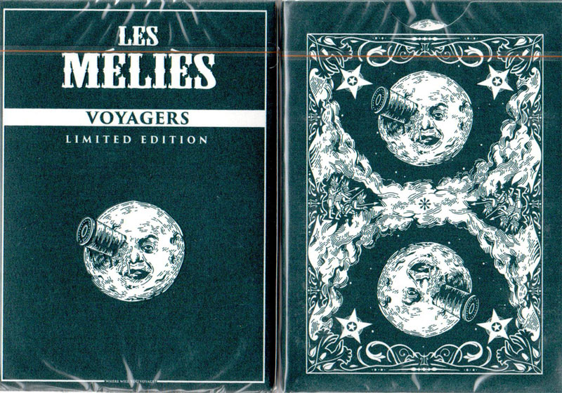 Les Melies Voyager Playing Cards (Blue)