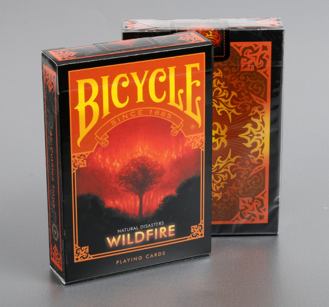 "Bicycle Natural Disasters ""Wildfire"" Playing Cards"