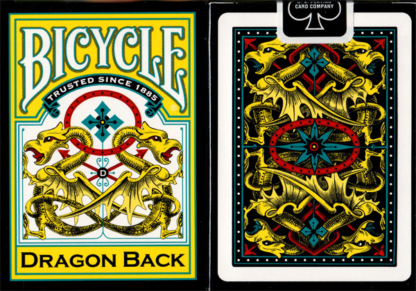 Bicycle Dragon Back Yellow